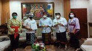 PDDI Bali Bantu Pemkot Denpasar 600 Botol Suplemen Kesehatan