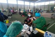 Target 2 Ribu Orang, Kodam IX/Udayana Gelar Vaksinasi Kedua di Kepaon