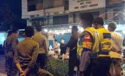 Cegah Kerumunan, Tim Yustisi Ajak Pemilik Angkringan Tertib Prokes