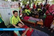 Ribuan Warga Sehat dan Bahagia dengan Senam Goyang Dayung