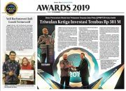 "AWARDS 2019 ""Dinas Penanaman Modal dan Pelayanan Terpadu Satu Pintu (DPMPTSP) Kota Kediri"""