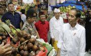 Blusukan Ke Pasar Badung, Jokowi Puji Penggunaan Tas Ramah Lingkungan