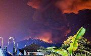 Puluhan Desa Terdampak Hujan Abu, Lereng Gunung Terpapar Hujan Pasir