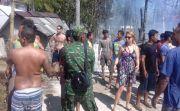 Asal Buang Puntung Rokok, Lima Rumah Gubuk Ludes Terbakar