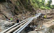 Pasok Kebutuhan Air Warga, Perbaiki Sumber Mata Air Sente Desa Musi