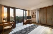 Kuta Sea View Resort, Tawarkan Sunset dan Nuansa Asri di Ramainya Kuta
