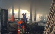 Toko Sembako dan Perabot Terbakar, Pemilik Merugi Hingga Miliaran