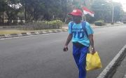 Ini Alasan Kakek Suharta Nekat Jalan Kaki 4 Hari Demi Jokowi