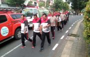 Berat Badan Overweight, 24 Personel Polres Klungkung Digenjot Fisik