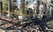 Wantilan Pura Ludes Terbakar, Pemkab Klungkung Siap Bangun Ulang