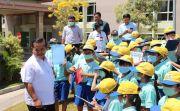 RS Bali Mandara Komit Edukasi Pelajar SD Pengolahan Limbah Rumah Sakit