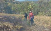 Kemarau Panjang, Satu Hektare Lahan Objek Wisata Bukit Belong Terbakar