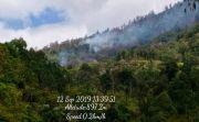Kebakaran Hutan di Lereng Gunung Agung Meluas, Terpantau di Tiga Titik