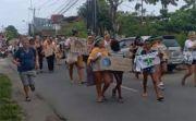 Viral Warga Asing di Bali Turun ke Jalan Suarakan Krisis Iklim