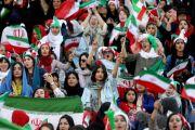 Blue Girl Tumbal Sepak Bola Iran