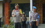 Cegah Kelompok Radikal Jelang Pilkel Seretak, Polri/TNI Show of Force