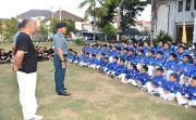Danlanal Denpasar Bali Resmi Lepas 110 Atlet Taekwondo
