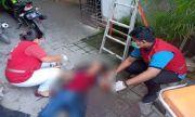 TRAGIS! Gagal Bunuh Diri, Siti Sayat Tangan dan Lompat dari Lantai Dua