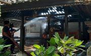 Oven Meledak, Bale Dangin di Blahbatuh Gianyar Ludes Terbakar