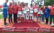 Coke Kicks Coca-Cola Amatil Bidik Pemain Muda Bali