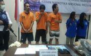 BNNP Bali Gulung Empat Anggota Sindikat Narkoba Jaringan LP Karangasem