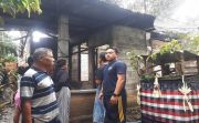 Ditinggal Pulang Kampung Rayakan Galungan, Rumah Terbakar