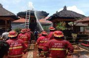3 Pelinggih di Kesiman Hangus Terbakar, Kerugian Ditaksir Rp 500 Juta