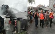 Tabung Gas Meledak, Tempat Usaha Penggorengan Krupuk Ludes Terbakar