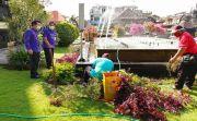 Progam Terhalang Corona, Dispar Klungkung Sibuk Tata Taman Kota