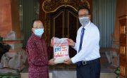 BRI Salurkan Bantuan 10 Ton Beras, Ribuan Paket Sembako dan Vitamin C