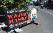 Gencar Razia Masker, Jelang Galungan Kasus Covid di Bali Kian Mereda