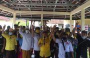 Jelang Coblosan, Paket Massker Banjir Dukungan di Manggis
