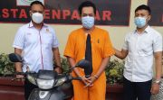 Curi Motor Pakai Kunci Palsu di Denpasar, Agus Dijebloskan ke Sel