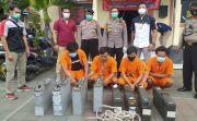 Curi Baterai Tower di Puluhan Lokasi di Denpasar, 4 Teknisi Digulung