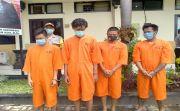 4 Tsk Narkotika Ditangkap, 2 Diantaranya Pengedar di Denpasar & Badung