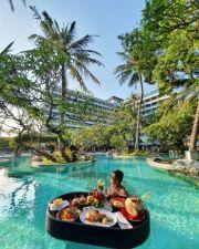 Grand Inna Bali Beach Tawarkan 'Floating Breakfast 'dan 'Brunch