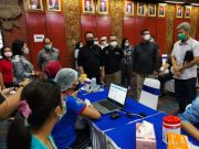 BI Bali Target 10.000 Kalangan Perbankan Divaksin