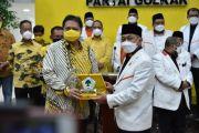 Airlangga Apresiasi PKS Dukung Pemerintah Tangani Pandemi Covid-19