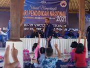 Cegah Terorisme, Garda Pemuda NasDem Gelar Lomba Nyurat Aksara Bali