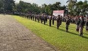 Ratusan Personel Jaga Ketat Pelabuhan Padangbai Awasi Pemudik Lebaran
