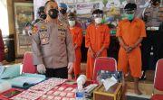 Empat Pengedar Pil Koplo dan SS Ditangkap di Gianyar, Satu Masih Anak