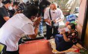 Bupati Giri Prasta Lanjutkan Pemantauan Penyaluran BLT di Kuta Utara