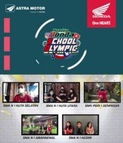 Honda School Olympic Competition Digelar Virtual, Ini Pemenangnya!