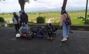 Pesepeda Motor Terkapar usai Tabrak Truk di Jembrana, 4 Giginya Rompal