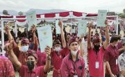 Konflik Puluhan Tahun Akhirnya Tuntas, Jokowi Ingatkan Jangan Dijual