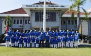 Ketua Dojang Lepas 59 Atlet Taekwondo Dinasty TNI AL Denpasar