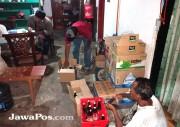 Polsek Muncar Menggerebek Rumah Penjual Bir