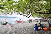 Perbaikan Fasilitas, Wisata Pantai Grand Watudodol Ditutup Sementara