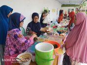 Geliat Bazar di Arena Pengajian Ahad Pagi Masjid Besar Ahmad Dahlan