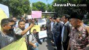 Gelar Aksi Damai di Kantor DPRD, Wartawan Tolak RUU KUHP